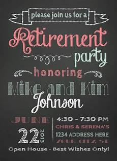Template For Retirement Party Invitation Retirement Party Invitation