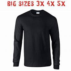 big 3x 4x 5x s sleeve t shirt plain blank unisex
