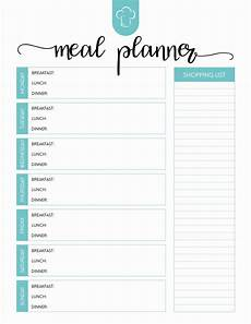 Dinner Plan Template Weekly Meal Planner Template Word Inspirational Printable