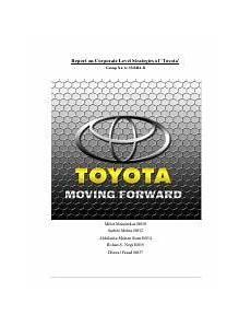 Toyota Marketing Plan Pdf Toyota Marketing Plan Executive Summary Toyota