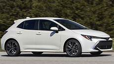 Toyota Hatchback 2019 by 2019 Toyota Corolla Hatchback Delivers Driving