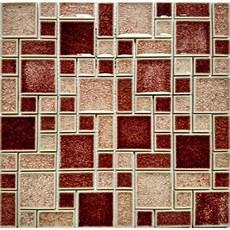 wall tile for kitchen backsplash crackle glass mosaic wall tile