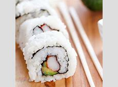 Easy California Sushi Rolls   Yummy Healthy Easy