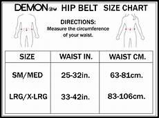 Hip Doggie Size Chart Hip Belt X D3o