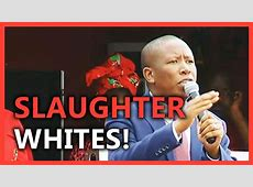 The real Malema so hated the whites, 'you could cut it