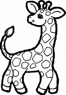giraffe coloring pages free on clipartmag