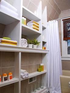 bathroom organization ideas for small bathrooms small bathrooms big on hgtv