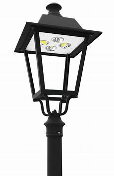Led Outdoor Post Light Fixtures Led Pt 710 Series Led Post Top Lantern Light Fixtures