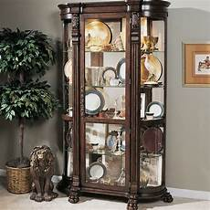 darby home co murillo lighted curio cabinet reviews