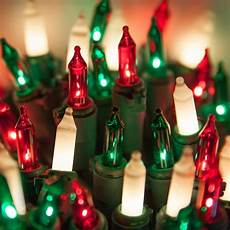 Red And White Large Christmas Lights Christmas Mini Lights Commercial 100 Red Green White