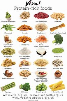 Most Protein Food Chart Protein Rich Foods Wallchart Viva Health