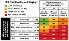 Ckd Stages Chart If My Kidneys Are Functioning At 40 Is That Serious Quora