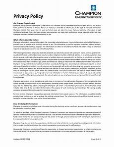Privacy Policy Sample Free 18 Privacy Policy Examples In Pdf Google Docs