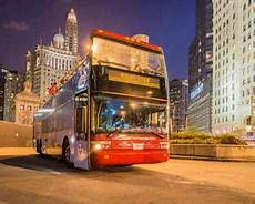 Chicago Lights Trolley Chicago Trolley Night Tour Hop On Hop Off Ticket Adrenaline