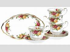 Ready Stock : Royal Albert Old Country Roses Dinner Set