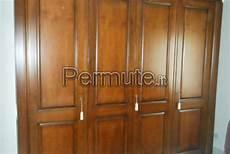 armadio da letto usato da letto in legno massello noce nazionale roma