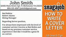 How To Write A Cover Letter For A Writing Job Job Search Tips Part 11 How To Write A Cover Letter