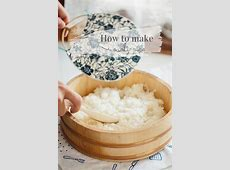 How to make perfect sushi rice, recipe with step by step