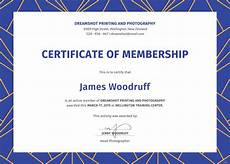 Certificate Format Template Free Membership Certificate Template In Psd Ms Word