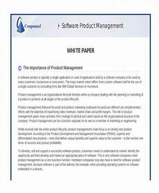 Product White Paper Template 38 Sample White Paper Templates Free Amp Premium Templates