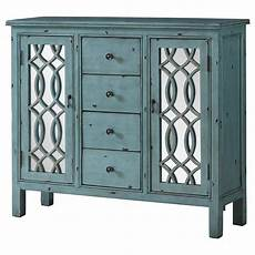 coaster accent cabinets antique blue accent table with