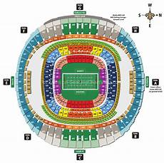 Mercedes Benz Stadium In Atlanta Seating Chart Mercedes Benz Superdome New Orleans La Seating Chart View