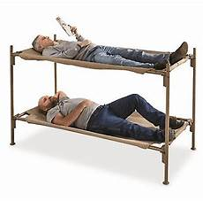 bunk bed steel frame italian portable cot