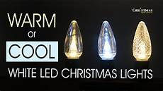 Target Warm White Led Christmas Lights Warm Or Cool White Led Christmas Lights Youtube