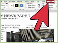 Newspaper Outline For Word 3 Ways To Make A Newspaper On Microsoft Word Wikihow