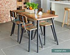 Small Dining Table Coastal Chic Small Rectangular Dining Table Reclaimed Wood