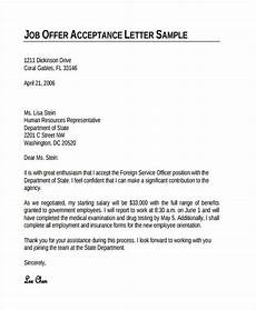 Job Offer Thank You Letter Free 74 Thank You Letter Examples In Doc Pdf Examples