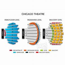 Chicago Theater Booth Seating Chart Chicago Theatre Seating Guide And Events Schedule Vivid