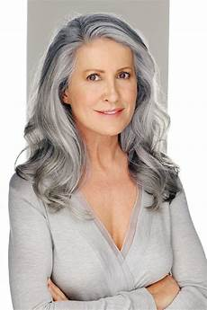 model g gray hair silver grey hair