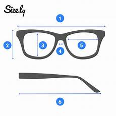 Eyeglasses Measurements Chart How To Measure Glasses Eye Size Lens Width Is The