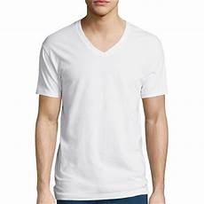 Jcpenney Stafford Shirt Size Chart Stafford 174 3 Pk Cotton Stretch V Neck T Shirts Jcpenney