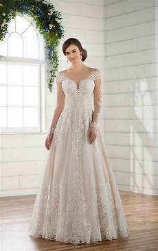 plus size wedding dress with lace sleeves essense of plus size wedding dress with lace sleeves essense of