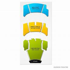 Hudson Theater Seating Chart Hudson Theatre Seating Chart Vivid Seats