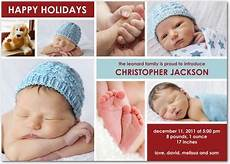 Make Your Own Birth Announcements Good For Around The Holidays Birth Announcement Boy