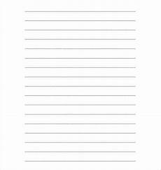 Writing Template Paper 10 Writing Paper Templates Free Sample Example Format