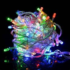 Colored Led Lights Christmas 100led 16ft Color Changing Decorative Party Christmas