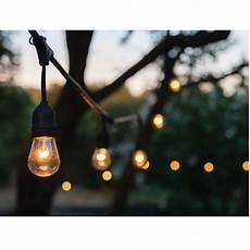 En Lighting 24 Ft 12 Bulb Outdoor String Lights