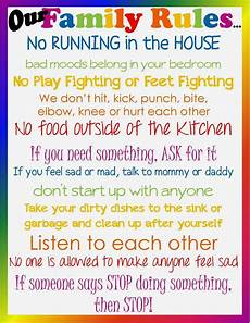Rental House Rules Template Don T Lose Sight Of The Ultimate Goal Parenting Rules