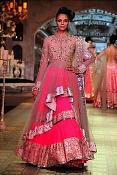Indian Designs For Women Indian Wedding Dress Designer Manish Malhotra Pink