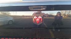 Lighted Dodge Ram Tailgate Emblem Ram Led Lighted Vehicle Emblem Black Reese Novelty Rp86619