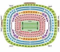 Fedex Seating Chart Fedexfield Seating Chart Amp Maps Landover