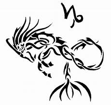 Tribal Capricorn Designs 25 Tribal Capricorn Tattoos For Men