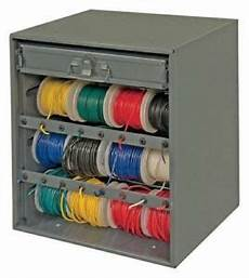 auto home electric wire roll wiring spool metal storage
