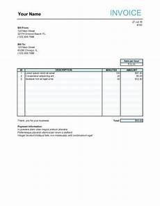 Film Invoice Template 10 Free Freelance Invoice Templates Word Excel