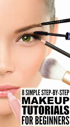8 step by step makeup tutorials for beginners