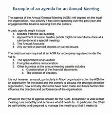 Business Agenda Example Free 5 Sample Business Meeting Agenda Templates In Pdf